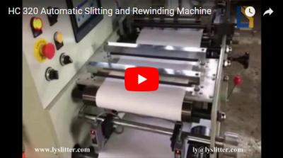 HC-320 Label Automatic Slitting and Rewinding Machine