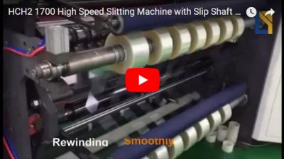 HCH2-1700 Protective Film High Speed Slitting Machine with Slip Shaft