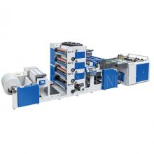 4 Colors Hamburger Paper Sandwich Paper Printing Sheeting Machine