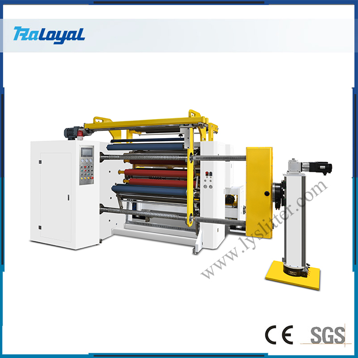 HCH3-1300B Slitting Machine with Automatic Unloading