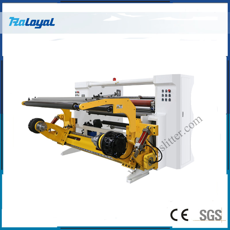HCH2-1300 High Speed Slitting Machine with Friction Shaft
