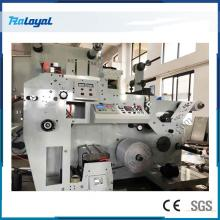 1 Color Label Glazing Flexographic Printing Machine